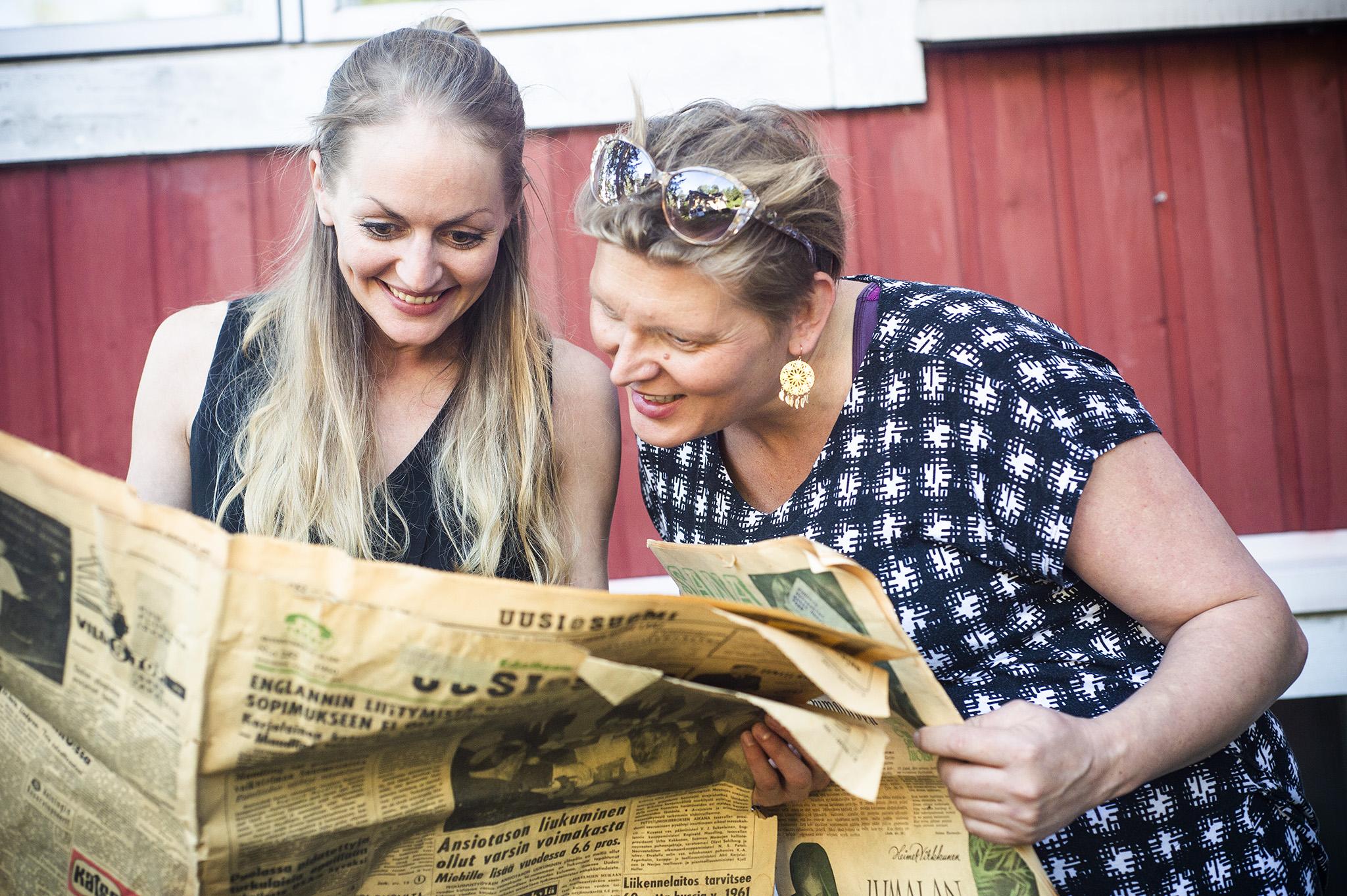 Jenna Lehtisen artikkeli elämästä Furuvikissa