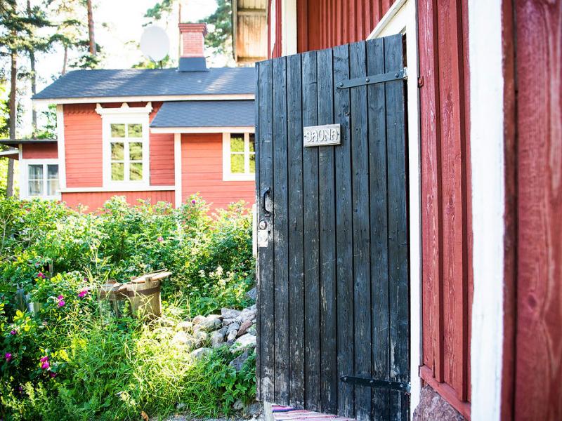 Villa Furuvik huvilan pihasauna Helsinki